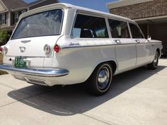 '61 Chevrolet Corvair Lakewood 4-speed | eBay