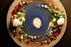 Visually sublime dish from Michelin 3 star Hajime Restaurant (Osaka, Japan)- from the Daily Meal