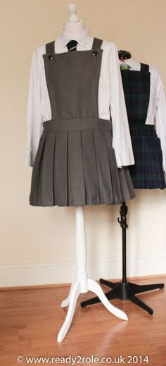 Adult School Uniform (Pinafore) Made to Measure                              …