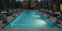 Pool Yountville