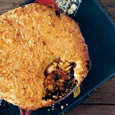 Bbq Chicken, Chicken Recipes, Jalapeno Cheddar Cornbread, Pot Pie, Bourbon, Main Dishes, Buffalo Trace, Yummy Food, Evernote