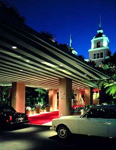 The Beverly Hills Hotel. Los Angeles