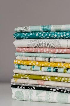 Bijou Lovely: saturday stash. Shape of Spring by Eloise Renouf for Cloud9fabrics.