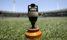 The famous Ashes Urn still going strong. The prize has stayed the same as the 2 sides still battle it out for the small prize to this day. For more, see http://www.betfred.com/sport