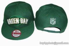 ff87a429862 Green Bay Packers Snapback Hat Old Style NFL Adjustable Cap Green 3 cheap  for sale