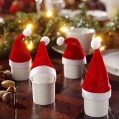 5pcs Fashion Wine Bottle Sets With Christmas Cap On Bottle Mouth Santa Gift Red Christmas Decorative Party Supplier Xmas #>=#>=#>=#>=#> Click on the pin to check out discount price, color, size, shipping, etc. Save and like it!