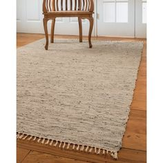 Natural Area Rugs Limassol Leather Hand-Woven Gray Area Rug Rug Size: Rectangle x Teal Rug, Grey Rugs, Natural Area Rugs, Natural Rug, White Area Rug, Blue Area Rugs, Limassol, Thing 1, Contemporary Area Rugs
