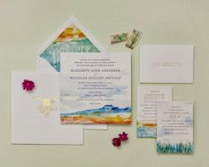 Cheree Berry Paper | via PLY: The Ultimate Paper Blog #wedding #invitations #southwest