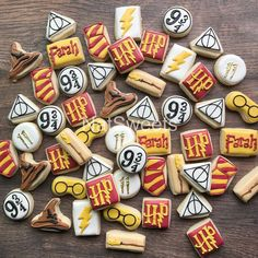 mini Harry Potter cookie