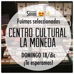 Querid@s amig@s! Fuimos seleccionados para participar en la Feria Navideña del Centro Cultural La Moneda  Domingo18/Dic!  Te esperamos! #ferianavideña #aros #amor #cclm #lamoneda #chile #felicidad #altorrelieve #navidad #ferianavideña