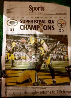 Headlines - Herald Times Reporter. Green Bay Packers ... 06be8063d