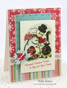 another vintage christmas card
