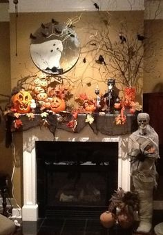 Halloween Decorations (16 Pics) LOVE THIS WANT TO MAKE A MUMMY