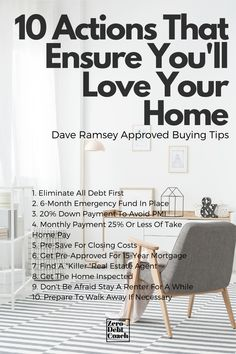 "The real estate marketing machine will try to convince you that ""you need to buy a house right now"", but be careful. The question of, ""How much house can I afford?"" is not necessarily the best first question either. So, to ensure your home is a blessing, complete these 10 steps before you buy."
