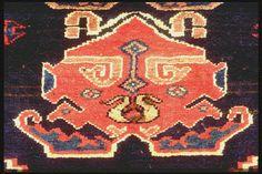 Close up of a kurdi antique rug henide@hotmail.com  25 rue la Boétie  75008 Paris