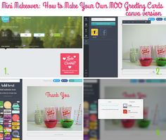 Mini Makeover: How to Make Your Own MOO Greeting Cards (steps for using Canva) on Style for a Happy Home