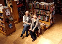 """""""Small businesses are great, but they're also sort of terrifying. It was a little like jumping off a cliff in the dark, but you know what? I landed on my feet."""" Inside Ann Patchett's Bookstore - Life Reimagined"""