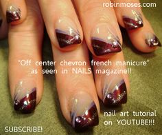 french manicure nail designs | ... french nail art design, COLORFUL alternative french with floral nail