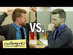 Hilarious video shows how we look vs. how we feel when we listen to music at work