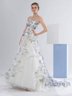 Catalogo abiti da sposa colorati