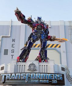 Inside Transformers: The Ride 3D at Universal Orlando, as giant robots roll out Florida's best new attraction