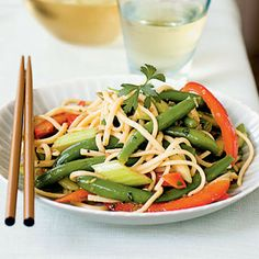 Asian Green Bean Salad by Cooking Light