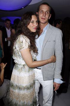 Andrea Casiraghi y Tatiana Santodomingo agotan la dulce espera #realeza #royals #royalty #monaco