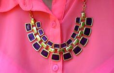Snake Shaped Pendant Necklace $14