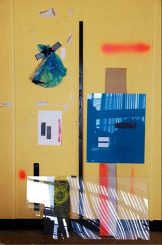 Amy Leonard, Studio Compositions, 2013 #hotstudio A series of bright and playful arrangements using sunlight, reflection and colour. http://www.axisweb.org/p/amyleonard/