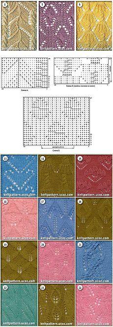material de archivo - Una colección de diseños y patrones para hacer punto