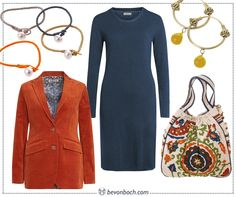 #Blue & #Orange #Essential by Brigitte von Boch #bevonboch