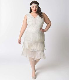 8fd41fdc37420 31 White Dress For Courthouse Wedding Flapper Wedding Dresses