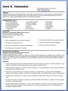 Administrative Assistant Job Resume Examples Of Executive Resumes