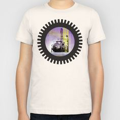 UNDER CONSTRUCTION II-B Kids T-Shirt by Pia Schneider [atelier COLOUR-VISION] - $20.00 #collage #mixedmedia #digital #industry #environment #factory #political #protecting #iron #machines #graphicdesign #purple #black #yellowgreen #pia #piaschneider #ateliercolourvision #landscape #abstract #surreal #ocean #nature #technic #art #kids #tees #kidstshirt #clothing #cool #modern #boys #girls #fashion #children