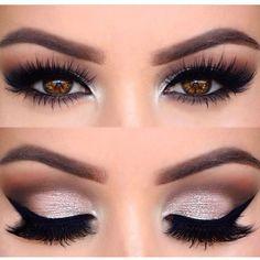 "Valentine's Day Eye Looks History of eye makeup ""Eye care"", in other words, ""eye make-up"" New Year's Makeup, Prom Makeup, Wedding Hair And Makeup, Makeup Goals, Bridal Makeup, Makeup Tips, Hair Makeup, Makeup Tutorials, Makeup Ideas"