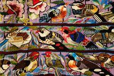 Huipil, Tz'utujil Maya, Santiago Atatlan, late 20th century, view 2, cotton - Textile Museum of Canada