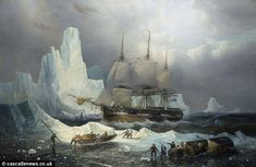 Doomed ship: The expedition of 130 men disappeared while searching for the fabled Northwest Passage in the icy wastes off northern Canada. Further evidence has come to light that they turned to cannibalism to survive