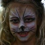 Natalie is turned into a kitty cat for Halloween in this tutorial video.