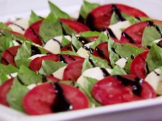 The Pioneer Woman's Caprese Salad #Dairy #Veggies #InSeason #MyPlate