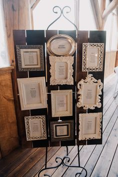 Setting plan table - Laid-Back Vintage Colorado Wedding at Piney River Ranch