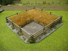 Dreispitz - Mike´s miniature wargaming blog: Terrain: My new grain field