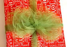 how to make tulle bows (and others)