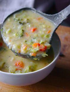 Zupa brokulowa z parmezanem Cheeseburger Chowder, Food, Essen, Meals, Yemek, Eten