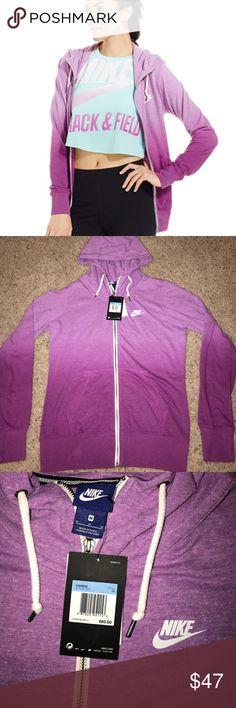 BRAND NEW Nike Hoodie Ombré Nike Gym Vintage Hoodie. Size Medium. Make me an offer! Nike Sweaters