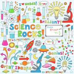 Science Back To School Notebook Doodles Vector Illustration Design. Royalty Free Cliparts, Vectors, And Stock Illustration. Science Notebook Cover, Notebook Covers, Science Drawing, Science Doodles, Notebook Doodles, Bujo Doodles, Science Images, Science Illustration, School Notebooks