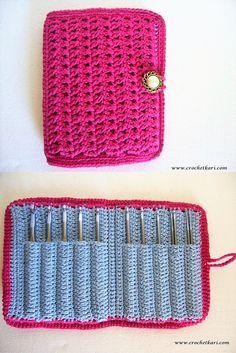[Free Pattern] This Aluminum Crochet Hook Case Is Pure Genius!