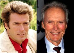 Clint Eastwood - still has a killer smile Clint Eastwood, Silvester Stallone, Celebrities Then And Now, Famous Celebrities, Young Old, Stars Then And Now, After Life, Aging Gracefully, Star Wars