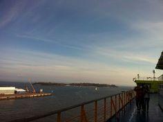 Tallin, on a ferry