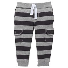 Boys' Stripe Trackpants - Grey