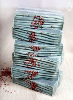 Blueberry Thyme Soap Tutorial